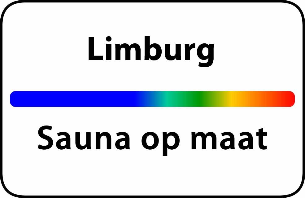 Sauna op maat in Limburg
