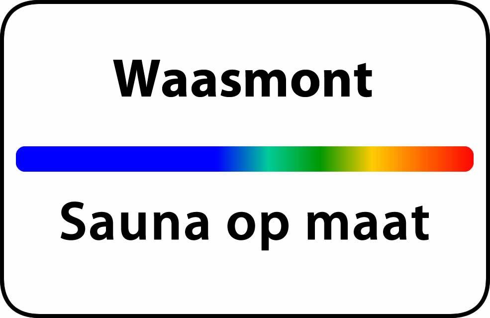 Sauna op maat in waasmont