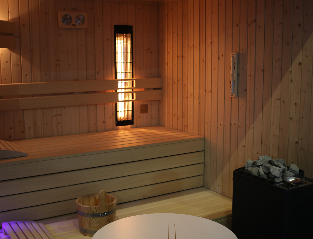 sauna op maat kopen in Wortegem